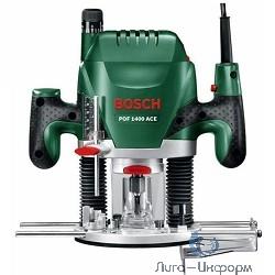 Bosch POF 1400 ACE Фрезерная машина [060326C820] { 1400 Вт, 11000–28000 об/мин, 55мм, 3.5 кг }