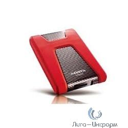 """A-Data Portable HDD 1Tb HD650 AHD650-1TU3-CRD {USB3.0, 2.5"""", Red}"""