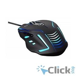 Oklick 735G черный (800/1600/2400dpi) USB игровая (6кнопок) [866473]