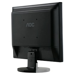 "LCD AOC 17"" E719SD Silver-Black TN, 1280x1024, 5 ms, 170°/<wbr>160°, 250 cd/<wbr>m, 20M:1, +DVI"