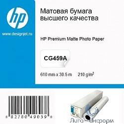 HP CG459B Фотобумага Матовая (610мм x 30.5м, 210г/м2)