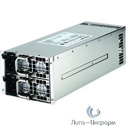 Procase ATX 2U IR2800 Блок питания с резервированием [IR2800] {(800W+800W),80+ GOLD,257*83*85mm,Активный PFC,+5B=26A,+12B=66A,+3,3B=26A, 5VSB=3A,Защита от перегрузки 105-150%,Вход напряж90-264В}
