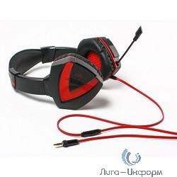 A4 Bloody G500, черный/красный  {Наушники с микрофоном, 2.2м}