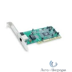D-Link DGE-530T/D2B Сетевой PCI-адаптер с 1 портом 10/100/1000Base-T  (низкопрофильное  крепление  в  комплекте) (RTL)