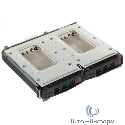"MCP-220-84606-0N Rear side dual 2.5"" HDD kit for 846B chassis"