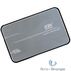 "AgeStar 3UB2A8S-6G BLACK Внешний корпус AgeStar 3UB2A8S-6G (BLACK) usb3.0 to 2.5""hdd SATAIII алюминий"