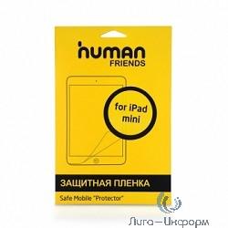 CBR Защитная пленка для экрана iPad mini, в комплекте чистящая салфетка и пластиковая карта