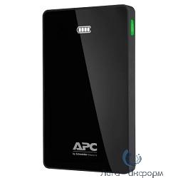 APC PowerPack M10BK-EC Мобильный аккумулятор Li-Pol 10000mAh 1A+2.4A черный
