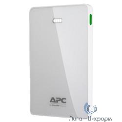 APC PowerPack M10WH-EC Мобильный аккумулятор Li-Pol 10000mAh 1A+2.4A белый