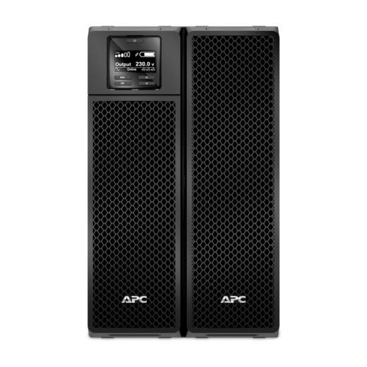 APC Smart-UPS SRT RM SRT10KXLI Black On-Line, 10kVA / 10000W, Tower, IEC, LCD, Serial+USB, SmartSlot, подкл. доп. батарей