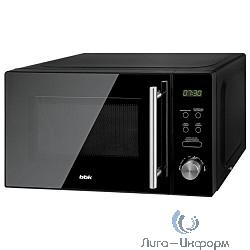 BBK 20MWS-722T/B-M Микроволновая печь , 700 Вт, 20 л, чёрный