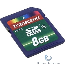 SecureDigital 8Gb Transcend TS8GSDHC4 {SDHC Class4}