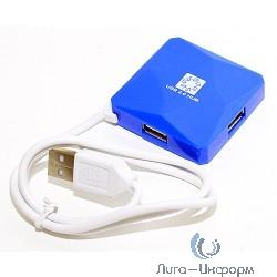 5bites HB24-202BL Концентратор 4*USB2.0 / USB 60CM / BLUE