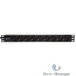 """5bites PDU919P-02 Блок розеток / PVC / 1U / 19"""" / 2M*3G*1.5MM2 / VDE"""