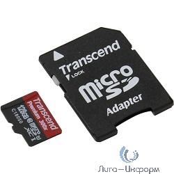 Micro SecureDigital 128Gb Transcend Class 10 TS128GUSDU1 {MicroSDXC Class 10 UHS-I, SD adapter}