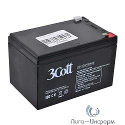 3Cott Аккумулятор 12V12Ah {0104363}