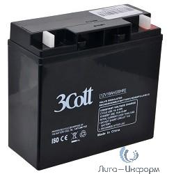 3Cott Аккумулятор 12V18Ah {0104365}