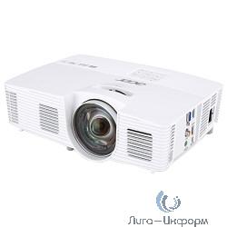 Acer H6517ST Короткофокусный проектор [MR.JLA11.001] {DLP 3D,1080p,3000Lm,10000/1, HDMI, short throw 0.5, Bag, 2.5Kg,EURO }