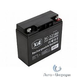3Cott Аккумулятор 3C-12180 (12 В/18Ач) {0280573}