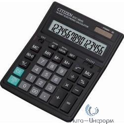 Citizen SDC-664S черный, {Калькулятор настольный, 16 разрядный с двойным питанием}