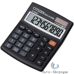 Citizen SDC-810BN черный {Калькулятор 10-разрядный}