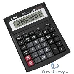 Калькулятор бухгалтерский Canon WS-1210T черный 12-разр. [662522]