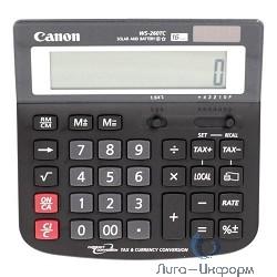 Калькулятор бухгалтерский Canon WS-260 TC черный 16-разр.