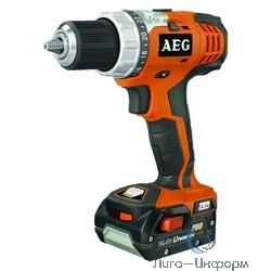 AEG  443994(BS 18C LI-402C) Дрель аккумуляторная [443994(BS 18C LI-402C)] {Дрель ак,18В,2х4Ач ProLi-ion,БЗП-13мм,0-450\1650об\м,70Нм,2кг,чем,доп.рукоятка,Compact}