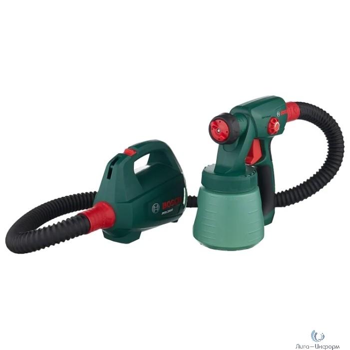 Bosch PFS 2000 Краскораспылитель [0603207300] {Мощность 440 Вт, производительность 200 мл/мин, вес 2 кг, объем контейнера 800 мл}