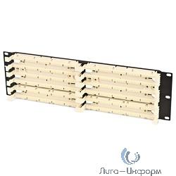 """Hyperline 110C-19-200P-2U 200 парная кросс-панель 110 типа, 19"""" 2U (без модулей)"""