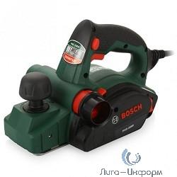 Bosch PHO 2000 Рубанок [06032A4120] {Номинальная потребляемая мощность 680 Вт, глубина сгорания 0-2,0 мм, глубина выборки пазы 0-8,0 мм, рабочая ширина 82 мм, число оборотов на холостом ходу 19500 }