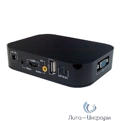 Плеер HDD ESPADA DMP-4 [HDMI1080p/VGA, Black, (Ch) [DMP-004Hb]