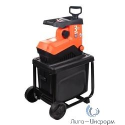 Измельчитель садовый PATRIOT PT SE30 [732304621] {Мощность дв. 2800Вт; 220В; скорость вращения 45 об/мин; макс. диаметр измельчения 40 мм, контейнер для сбора мусора 50л.}