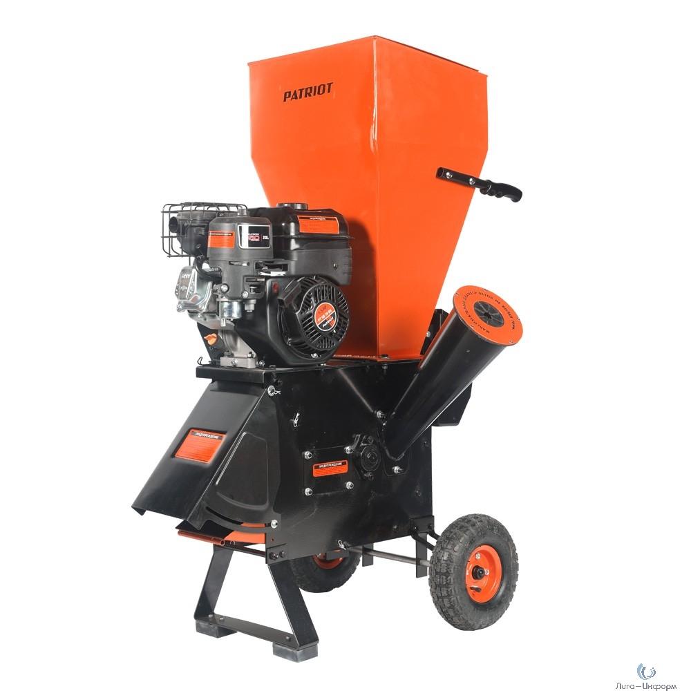 """Измельчитель бензиновый PATRIOT PT SB76 BS [732107065] {Двиг.: Briggs&Stratton 6.5л.с.,4хтакт.,возд охл; Макс.об.: 3600/мин;Об. под нагр.: 2000/мин; Бак 3.8л; Диам. веток: 3"""" = 76мм; Кол.ножей: 16 ;Ши"""