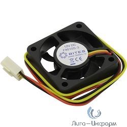5bites F4010S-3 Вентилятор 40 x 40 x 10мм, подшипник скольжения, 5500RPM, 22dBa, 3 pin