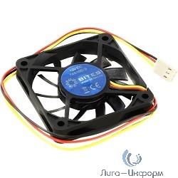 5bites F6010S-3 Вентилятор  60 x 60 x 10мм, подшипник скольжения, 3500RPM, 26dBa, 3 pin