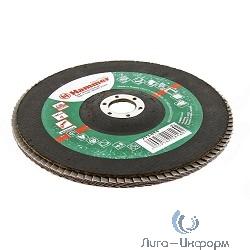180 Х 22 Р 60 тип 1 КЛТ Hammer Flex 213-014 Круг лепестковый торцевой [29441]