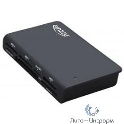 USB 3.0 Card reader SDXC/SD/SDHC/MMC/MS/CF/microSD [GR-336B] Black