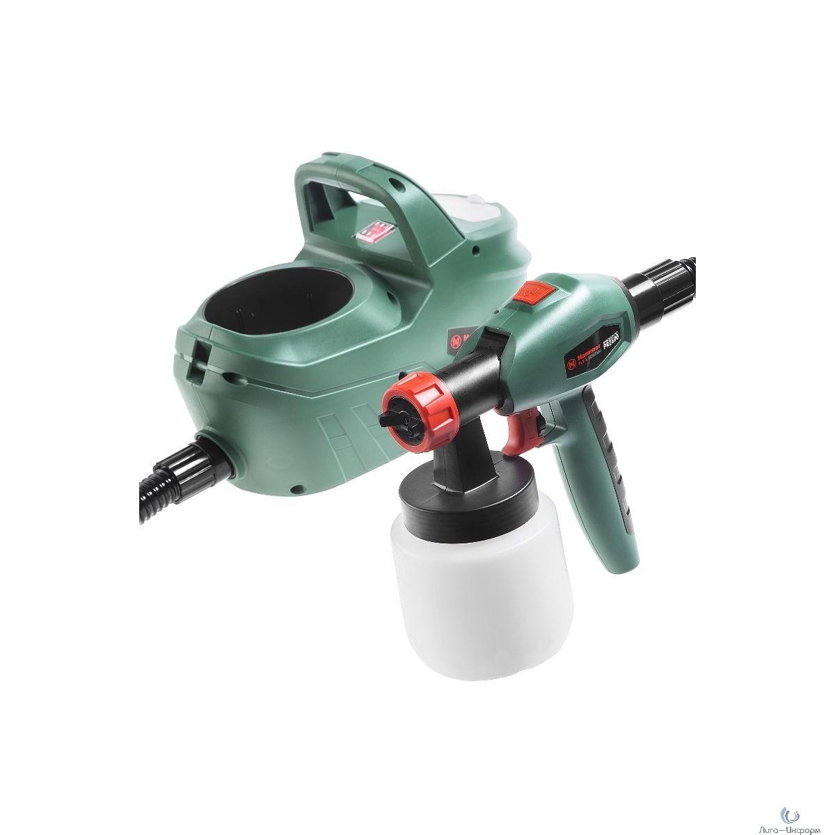 Hammer Flex PRZ600 Краскопульт [215276] {600Вт 0-800мл/мин 800мл бак, вязкость до 100 DIN} 146-009