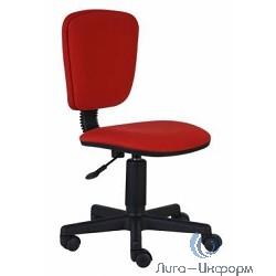 Бюрократ CH-204NX/26-22  Кресло (без подлокотников, красный 26-22 ткань крестовина пластиковая)