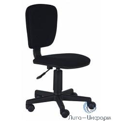 Бюрократ CH-204NX/26-28  Кресло (без подлокотников (черное 26-28) [663922]