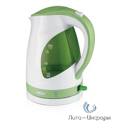 BBK EK1700P Чайник электрический, белый/голубой