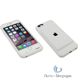 Apple Smart Battery Case iPhone 6/6s White [MGQM2ZM/A]