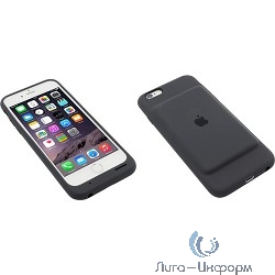 Apple Smart Battery Case iPhone 6/6s Charcoal Gray [MGQL2ZM/A]
