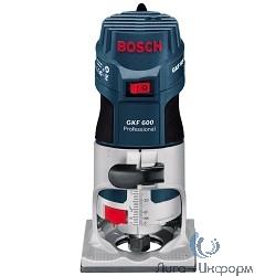 Bosch GKF 600 Professional Фрезер универсальный [060160A100] { 600 Вт, 33000 об/мин, 1,5 кг }