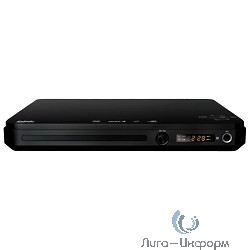 BBK DVP033S Mpeg-4 DVD-плеер серии in Ergo черный