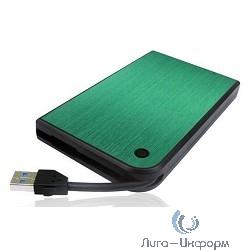 """AgeStar 3UB2A14 GREEN USB 3.0 Внешний корпус 2.5"""" SATA AgeStar 3UB2A14 (GREEN) USB3.0, алюминий, зеленый, безвинтовая конструкция [10608]"""