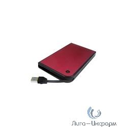 "AgeStar 3UB2A14 RED USB 3.0 Внешний корпус 2.5"" SATA AgeStar 3UB2A14 (RED) USB3.0, алюминий, красный, безвинтовая конструкция [10606]"