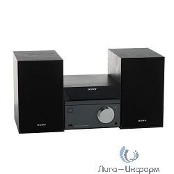 Sony CMT-SBT40D/C черный-серебристый