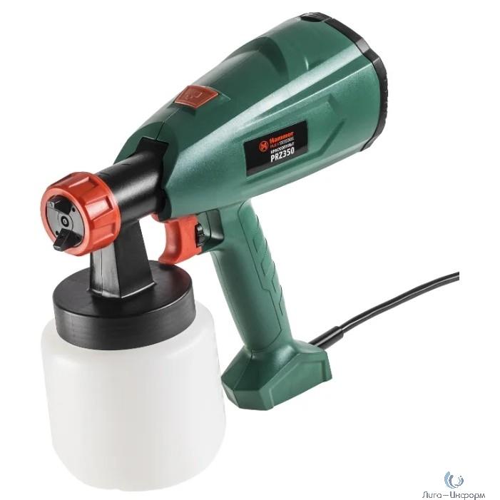 Hammer Flex PRZ350 Краскопульт [215279] {350Вт 0-700 мл/мин  800мл вязкость 60 DIN}